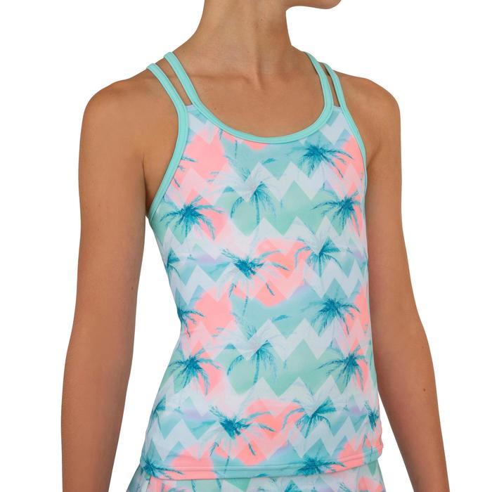 Noa Girl's Tankini Swim Skirt Swimsuit - Fiji