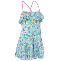 Girls' One-Piece Dress Swimsuit HANAE TUAMO MARTINICA