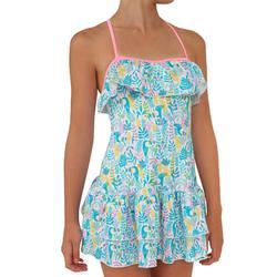 Girls' One-Piece Dress Swimsuit HANAE TUAMO MARTINICA