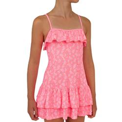 Girls' One-Piece Dress Swimsuit HANAE PALMY A11A