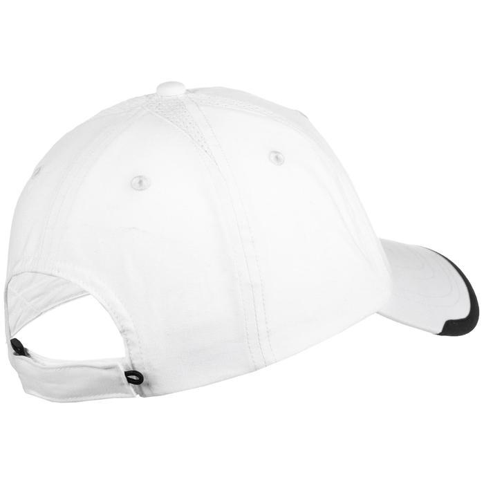 Schirmmütze Tennis-Cap Schlägersportarten Erwachsene weiß