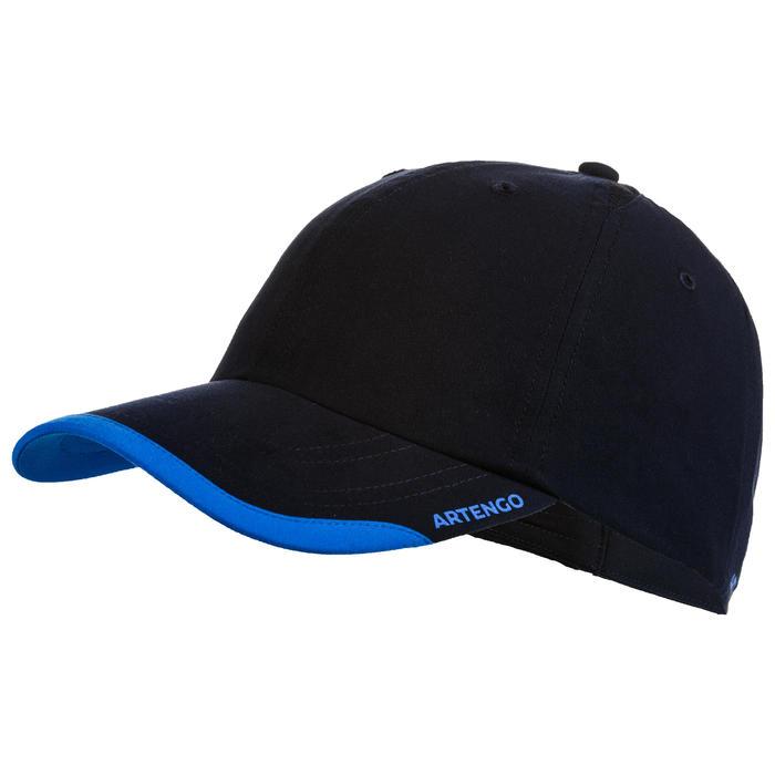 Schirmmütze Tennis-Cap Erwachsene marineblau