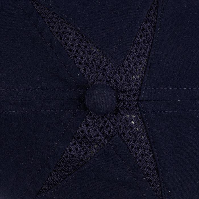 Soepele pet voor racketsport Artengo TC 100 marineblauw