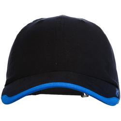 Soepele tennispet TC100 marineblauw