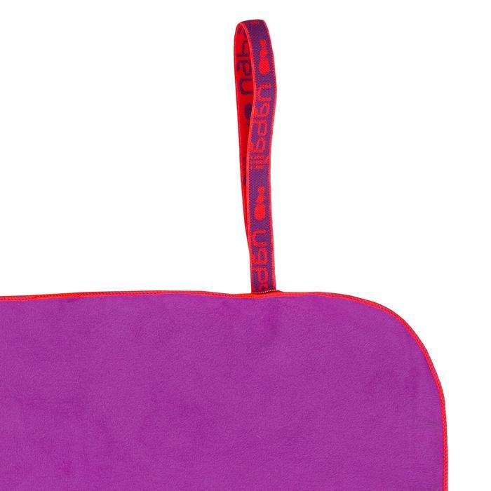 Microvezelhanddoek paars XL