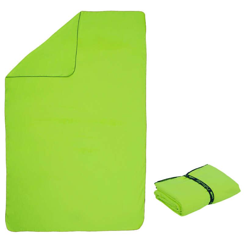 PROSOAPE NATAȚIE Surf, Bodyboard - Prosop Microfibră XL Galben  NABAIJI - Costume de baie, Protectii Solare, Papuci