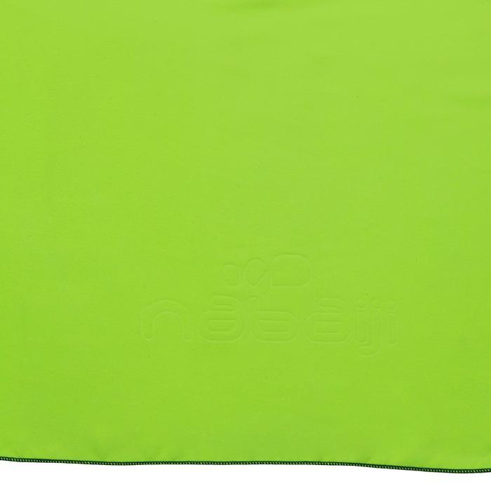 Serviette microfibre jaune XL