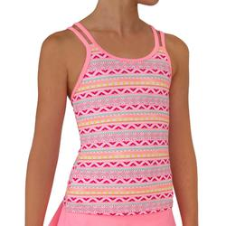 Girl's NOA ULAHE Tankini Swim Skirt Swimsuit BIANCO