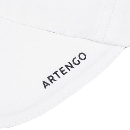 GORRA FLEXIBLE DE TENIS ARTENGO TC 100 T54 BLANCO