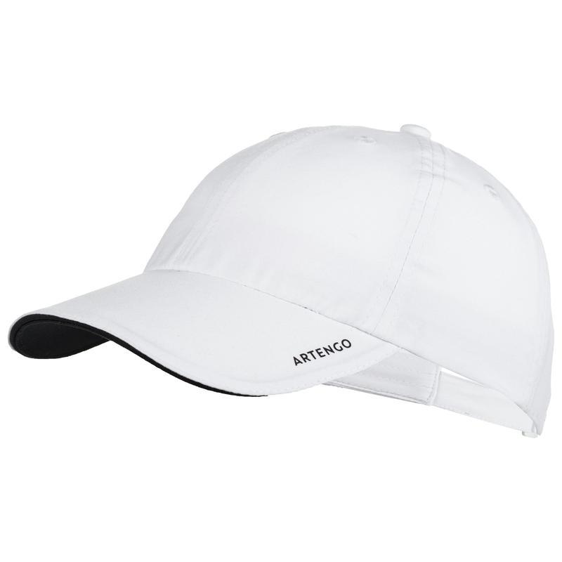 TC 100 Kids' Racquet Sports Cap - White