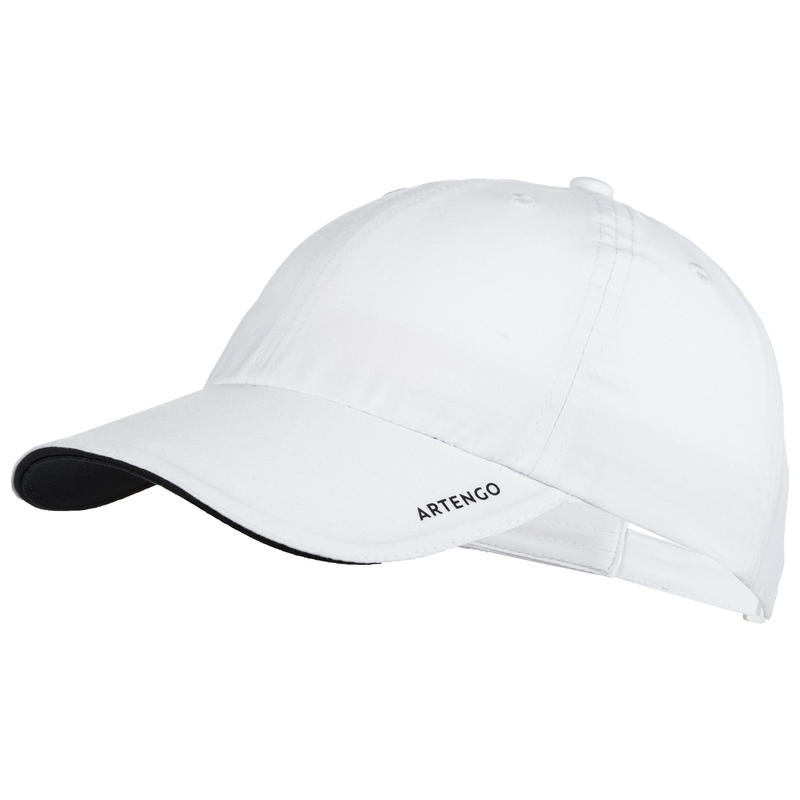 TC 100 Kids' Racket Sports Cap - White