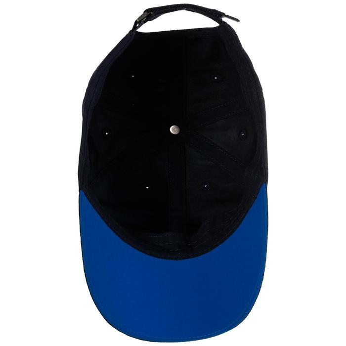 兒童款網球帽TC 100-軍藍色