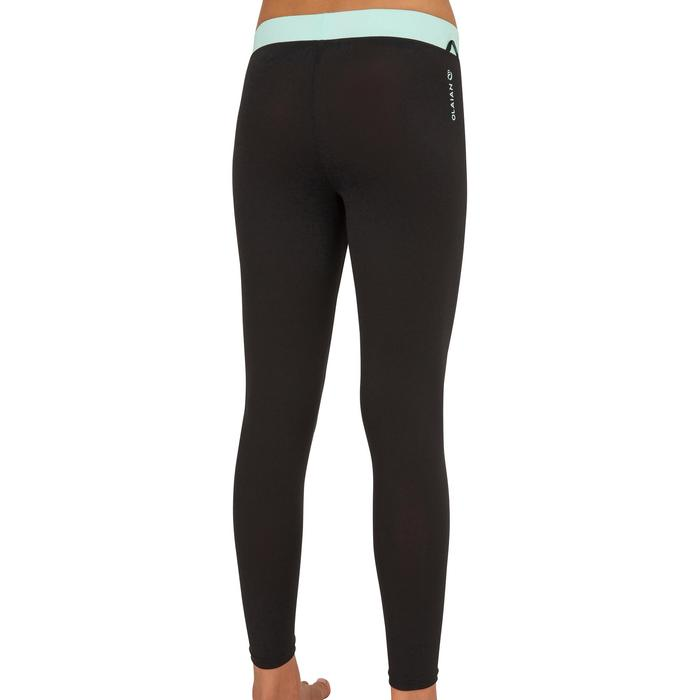 Leggings anti-UV surf 500 niños menta