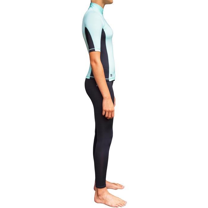 camiseta anti-uv surf top 500 manga corta niña