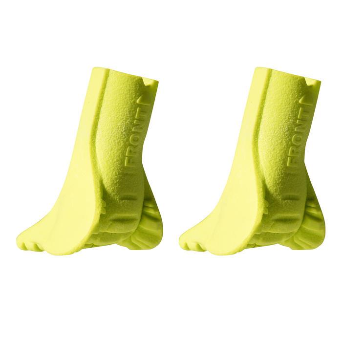 Gummipuffer für Nordic Walkingstöcke NW PAD500 gelb