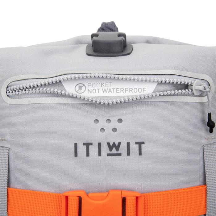 防水背包30 L-灰色