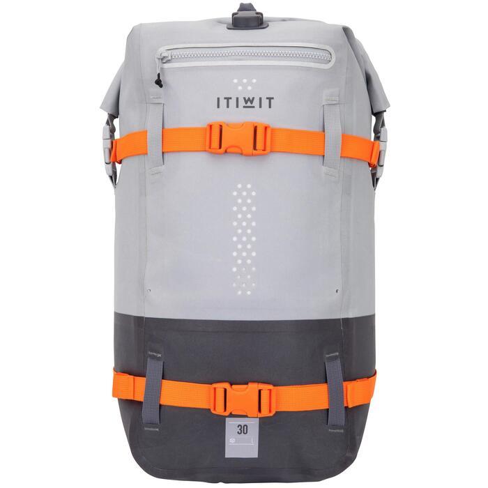 Wasserfester Rucksack 30L grau