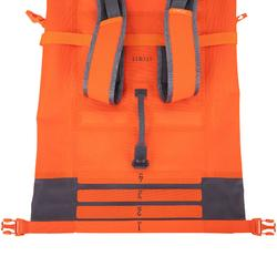 Rucksack wasserdicht 30l orange