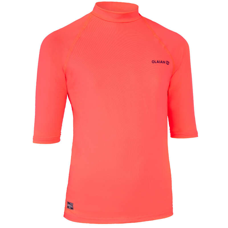 LYCRE SOLARI, TOP TERMICI JUNIOR Sport Acquatici - Maglia anti-UV 100 bambina OLAIAN - Infradito, accessori mare