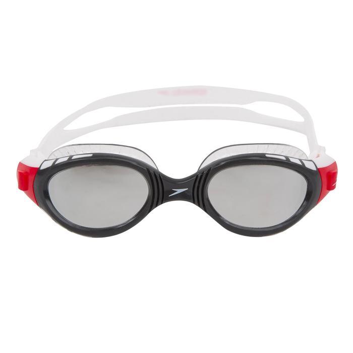 Gafas Natación Piscina Speedo Adulto Negro/Rojo Competición Antivaho