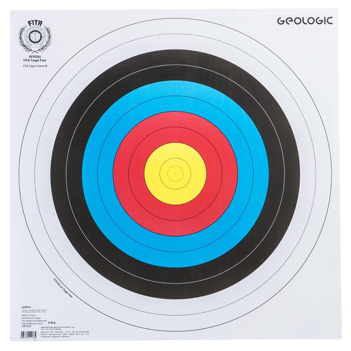 Schietschijf 40 x 40 cm