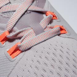 女款有氧健身訓練鞋900-灰色/紫色