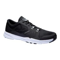 有氧健身訓練鞋100-黑色