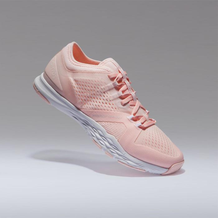 Chaussures cardio fitness training femme 900 rose