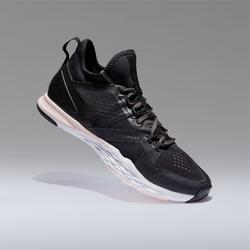 920 Women's Mid Cardio Fitness Shoes - Black/White/Pink