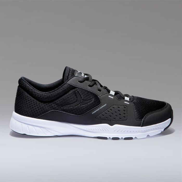 Fitness schoenen cardiotraining 100 voor heren, zwart