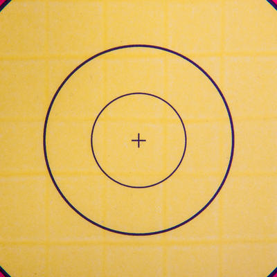 BLASON TIR A L'ARC 60 X 60 CM
