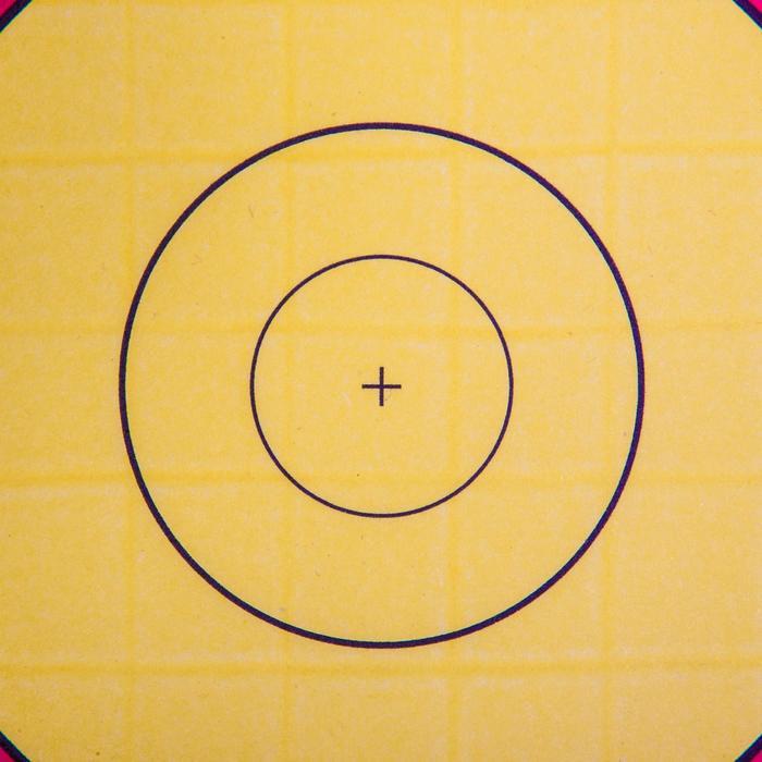 Schietschijf voor boogschieten, 60 x 60 cm - 156078