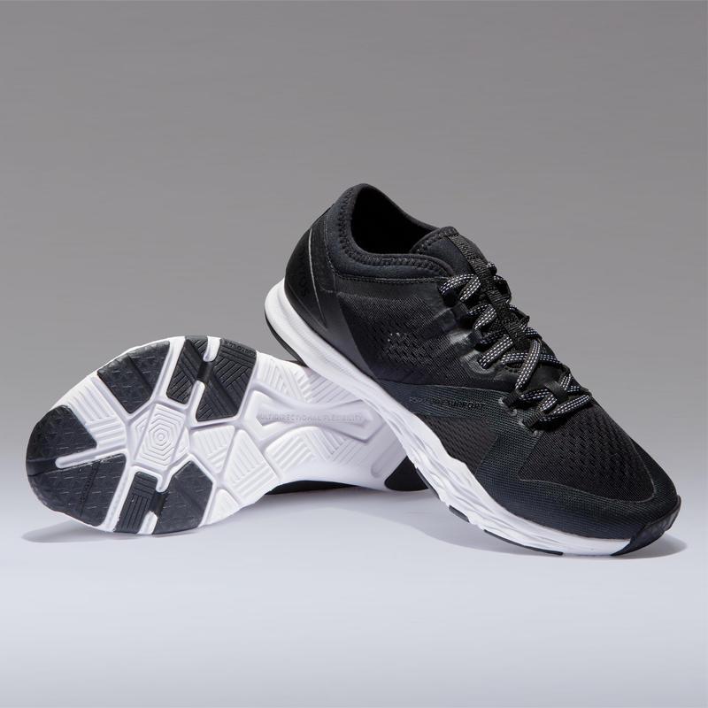 Women's Intense Gym/Cardio Training Fitness Shoes - Black