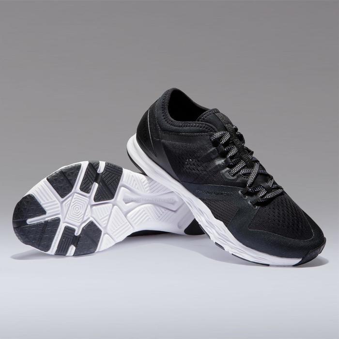 Zapatillas fitness cardio-training mujer 900 negro