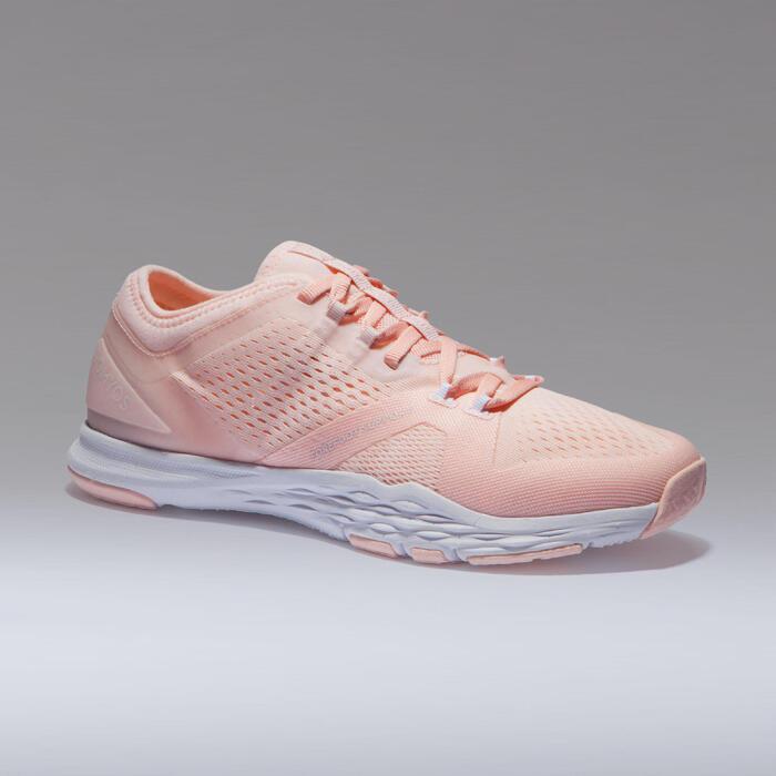 Zapatillas fitness cardio-training mujer 900 rosa