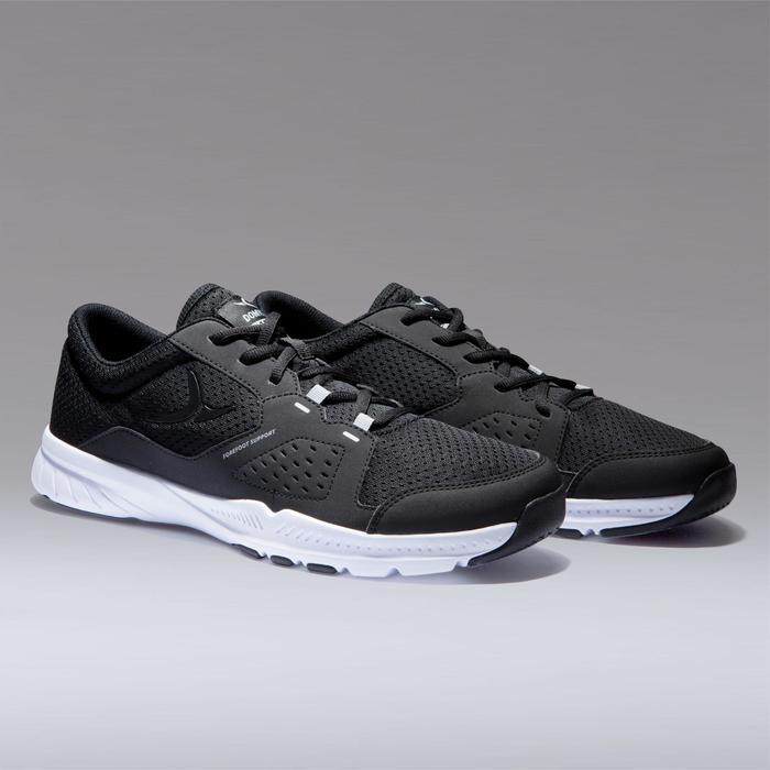 Schoenen voor cardiofitness heren training 100 zwart