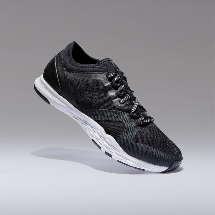 Chaussures cardio fitness training femme 900 noir