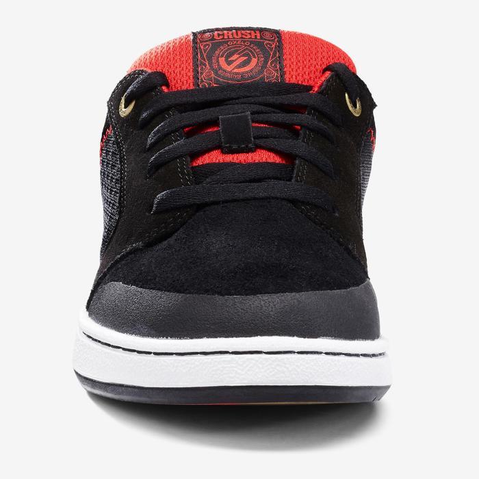 2f95a479c6a6ea Oxelo Chaussures basses de skateboard junior CRUSH 500 noire et ...