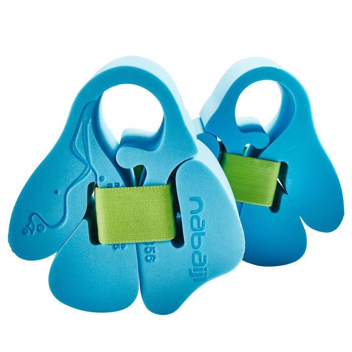 Brassards en mousse bleus avec sangle élastiquée pour enfant de 15-30 kg - 156088