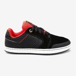 Lage skateschoenen kinderen Crush 500 zwart en rood
