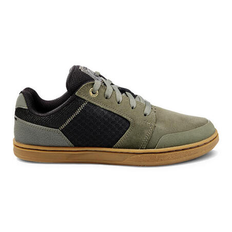 Crush 500 Kids' Low-Top Skate Shoes - Khaki
