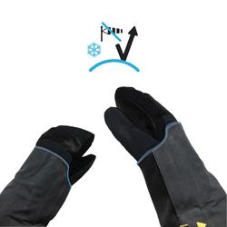 Ski- en snowboardjas voor heren SNB JKT 900 petroleumblauw
