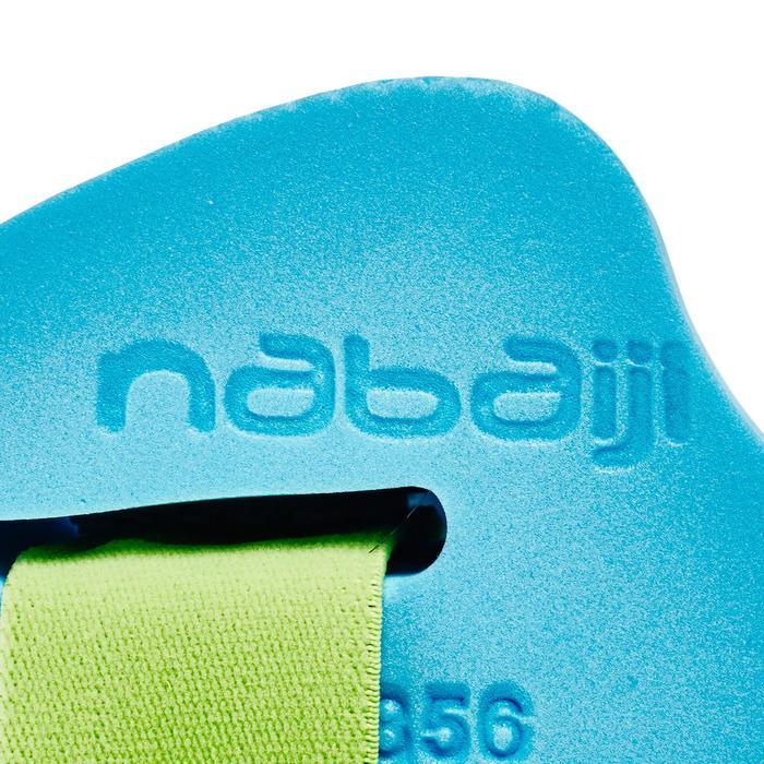 Manguitos Natación Nabaiji Espuma Azul con Correa Elástica 15 a 30 kg