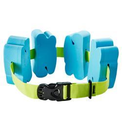 Zwemgordel 15 tot 60 kg schuimblokken blauw