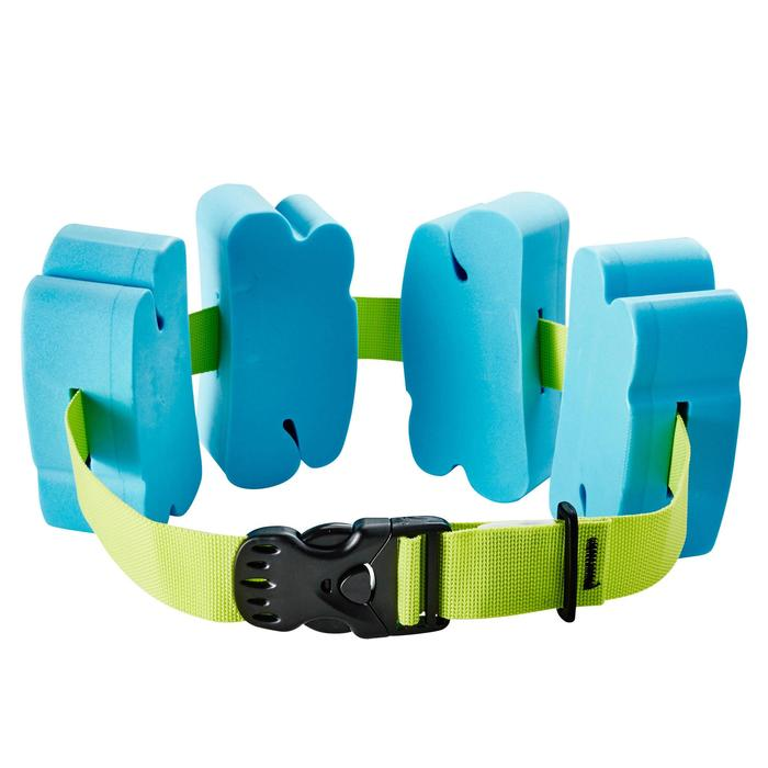 Zwemgordel voor kinderen met schuimblokken blauw