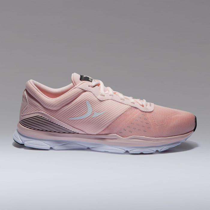 Chaussures cardio fitness training femme 500 rose