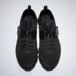 Zapatillas fitness cardio-training mujer 500 mid negro