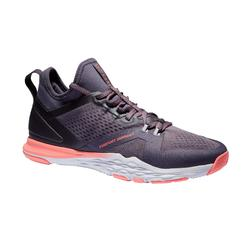 Chaussures fitness cardio-training 920 mid femme violet gris