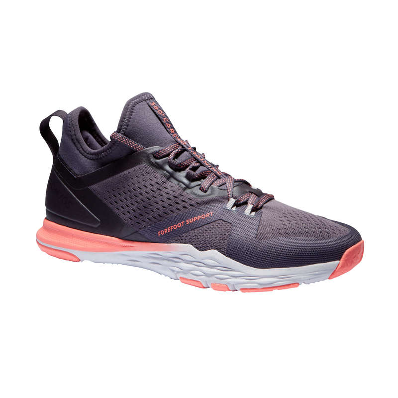 FITNESS SHOES Fitness and Gym - 920 Fitness Shoes Purple DOMYOS - Gym Activewear