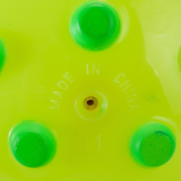 Petit ballon d'éveil aquatique FUNNY BALL rose avec picots violets - 156143